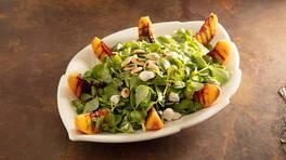 Arda'nın Mutfağı - Şeftalili Bademli Semizotu Salatası - Şeftalili Bademli Semizotu Salatası Tarifi - Şeftalili Bademli Semizotu Salatası Nasıl Yapılır?