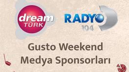 """Radyo D """"Sınırsız müzik, sınırsız eğlence Gusto Weekend'de!"""""""