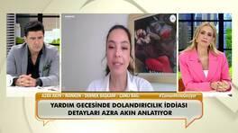 Azra Akın, yardım gecesinde dolandırıcılık iddiasını ilk kez canlı yayında anlattı!