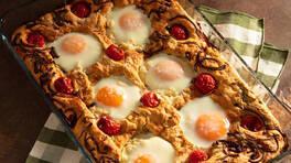 Arda'nın Mutfağı - Focaccia'da Yumurta - Focaccia'da Yumurta Tarifi - Focaccia'da Yumurta Nasıl Yapılır?