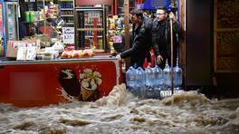 Sivas'ta kent merkezi suya gömüldü