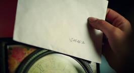 Yıllardır saklanan mektup!