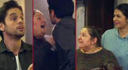 Cemal, Emine'yi öpmeye çalıştı!