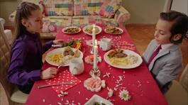 Mehmetcan'ın sürpriz yemeği