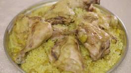 Sarımsaklı Tavuklu Pilav