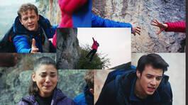 Dağ tırmanışında uçurumdan yuvarlandı!