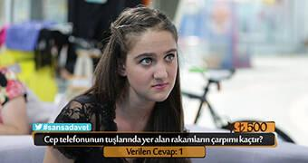 LİSELİ MERİH'E ŞANSA DAVET'TE MATEMATİK SINAVI!