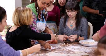 Altınsoylar, Kayseri mutfağı için ders aldılar!