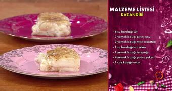 Gelinim Mutfakta - Kazandibi Tarifi