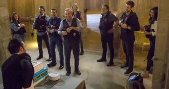 Arka Sokaklar ekibi 15'inci sezon pastasını kesti!