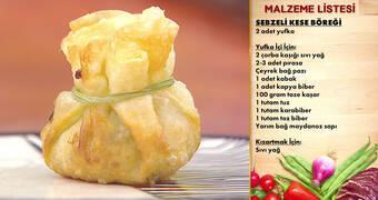Gelinim Mutfakta - Sebzeli Kese Böreği Tarifi