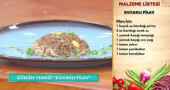 Gelinim Mutfakta - Duvaklı Pilav Tarifi