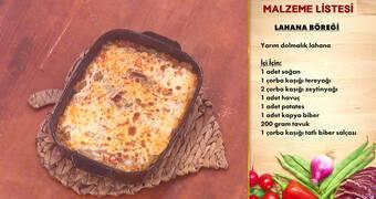 Gelinim Mutfakta - Lahana Böreği Tarifi