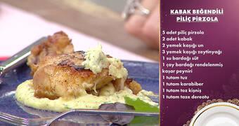 Gelinim Mutfakta - Kabak Beğendili Piliç Pirzola Tarifi