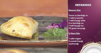 Gelinim Mutfakta - Empanadas Tarifi