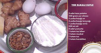 Gelinim Mutfakta - Yer Elmalı ve Patatesli Sufle Tarifi