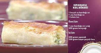 Gelinim Mutfakta - Ispanaklı Kol Böreği Tarifi
