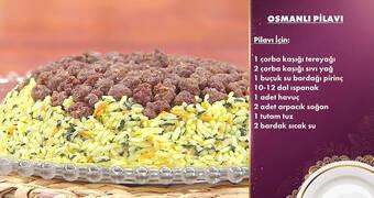 Gelinim Mutfakta - Osmanlı Pilavı Tarifi