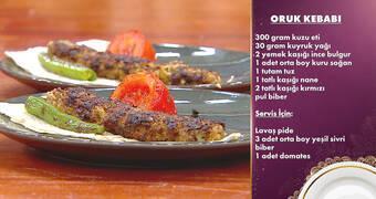 Gelinim Mutfakta - Oruk Kebabı Tarifi