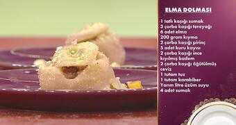 Gelinim Mutfakta - Terkib-i Tüffahiye (Elma Dolması) Tarifi