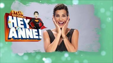 """""""Eylül Öztürk ile Hey Anne"""" cumartesi Kanal D'de başlıyor!"""