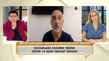 """Prof. Dr. Zafer Kurugöl, """"Bebeklere yanlışlıkla koronavirüs aşısı yapıldı"""" sözlerine açıklık getirdi!"""