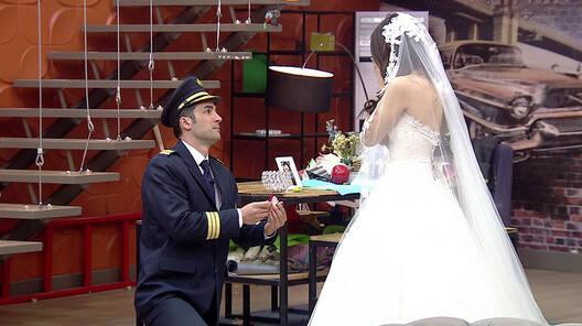 Onur'un muhteşem evllilik teklifi!