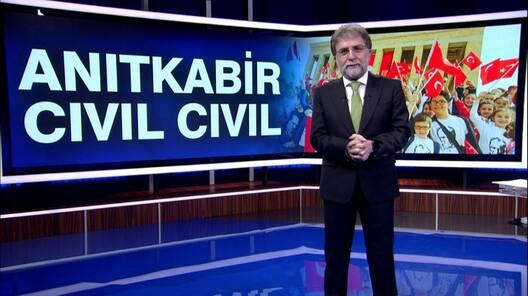Ahmet Hakan'la Kanal D Haber - 23.04.2018