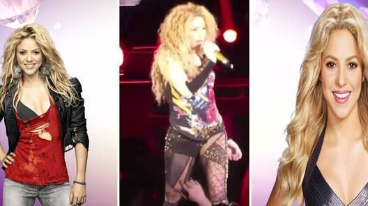 Shakira, İstanbul'u salladı!