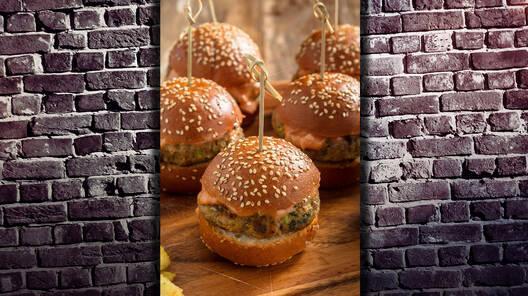 Arda'nın Mutfağı - Sebzeli Mini Burgerler