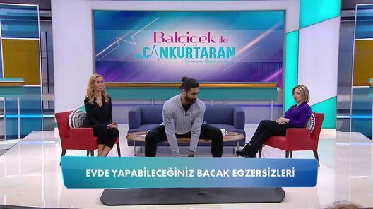 Murat Biçer'den evde yapılması kolay egzersizler!