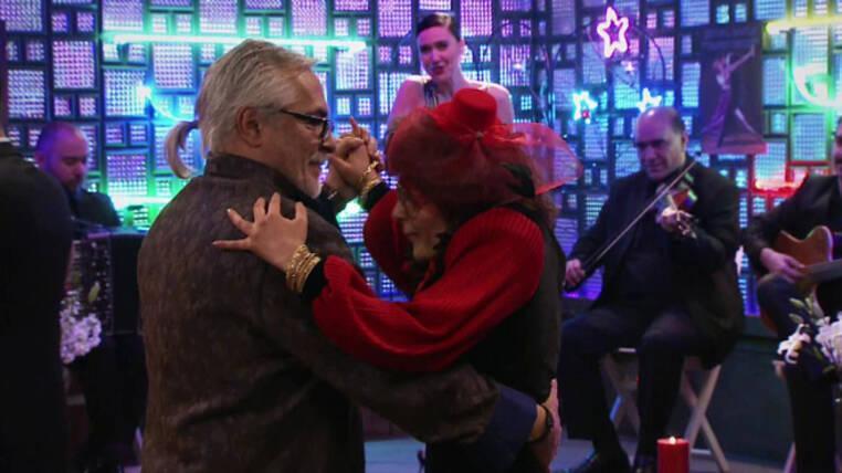 Vasfiye ve Timurdan tango şov