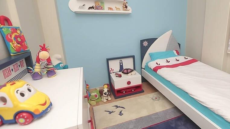Çocuk odaları şahane!