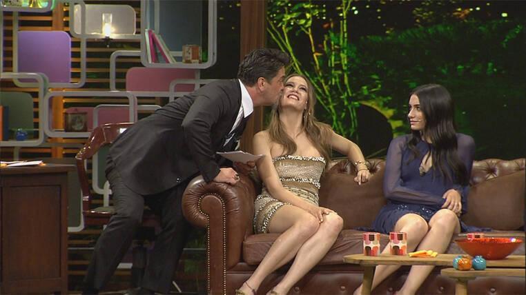 Serenay Sarıkaya'yı öpmek nasıl bir his?