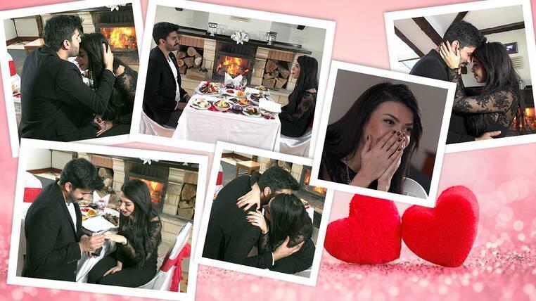 Adnan'ın Sürpriz Evlenme Teklifinden Kareler!